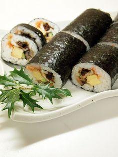 Eho-maki Sushi Rolls 恵方巻き