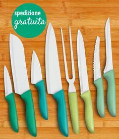 Su Donnamoderna.com un set di coltelli in ceramica ad un prezzo conveniente, hai tempo fino al 12 giugno!