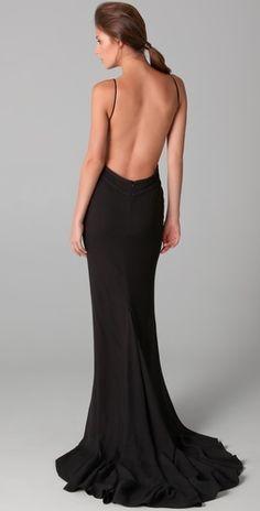 Sexy Back...Vestidos con escote en la espalda