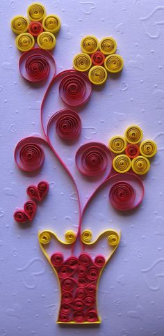 Quilling Ideas: Quilling Cards