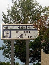 Columbine 4/20/99  13 killed, 24 injured
