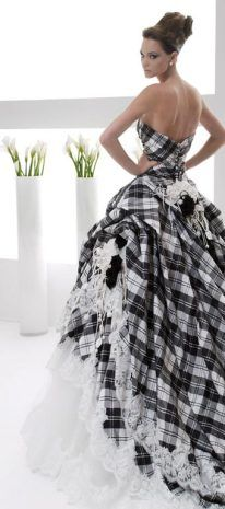 rs-couture – The FashionBrides Tartan Wedding Dress, Scottish Wedding Dresses, Tartan Dress, Blue Wedding Dresses, Wedding Gowns, Mode Tartan, Tartan Fashion, Bridal Collection, Couture Collection