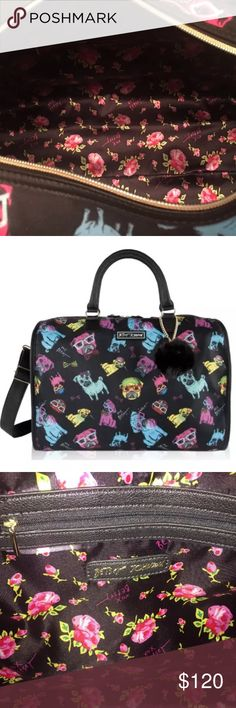 ❤️NWT Betsey Johnson Pug Weekender Travel Luggage BRAND NEW with tag Betsey Johnson Pug Weekender Duffle Travel Luggage! Large in size with tons of space! Made of nylon and has adjustable straps! Get her now❤️super cute!! Betsey Johnson Bags Travel Bags
