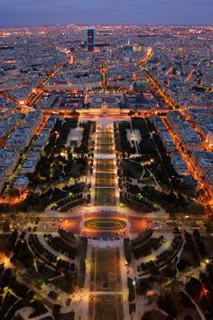 View from Eiffel Tower by Marc
