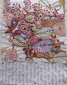 beautiful embroidery! I don't knit because it puts me to sleep. I don't crochet because the process doesn't make sense to me. But I KNOW I can embroider!