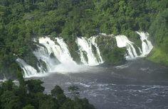 Kongou watervallen in Gabon