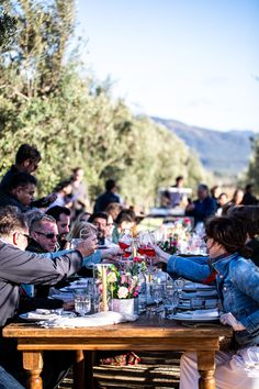 A farm to table dinner in Mexico's coveted wine country. #gather #outdoordining #alfresco Sheep Cheese, Mole Sauce, Outdoor Dinner Parties, Smoked Fish, Wild Mushrooms, Rustic Outdoor, Baja California, Tostadas, Wine Country