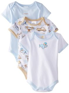 ABSORBA Baby-Boys Newborn Bear 3 Pack Body Suit Set, Multi, 0-3 Months - $11.77 - 32% off.