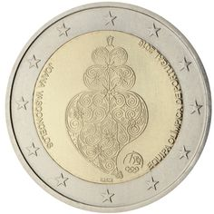 Portuguese Commemorative of 2016 Piece Euro, Euro Coins, Commemorative Coins, Money Matters, Olympic Games, Portuguese, Oeuvre D'art, Jewelry Art, Argus