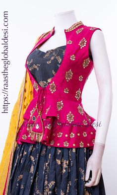 Source by Blouses Saree Blouse Neck Designs, Fancy Blouse Designs, Designs For Dresses, Dress Neck Designs, Lehenga Designs, Choli Designs, Blouse Patterns, Indian Designer Outfits, Designer Dresses
