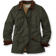 L.L.Bean Adirondack Barn Coat, Insulated  Misses Petite ($109) ❤ liked on Polyvore featuring outerwear, coats, jackets, barn coat, barn jacket, lightweight coat, l.l.bean, petite coats and insulated coat
