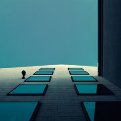 Squared architecture by Nick Frank, via Behance