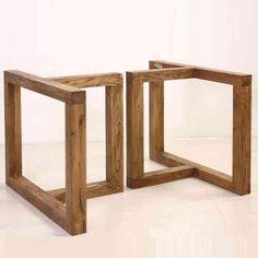 Base in legno per tavolo Office Table, Slab Table, Concrete Table, Diy  Dining 39ed01946c6c