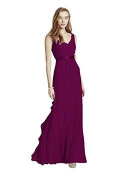 Sleeveless Chiffon Bridesmaid Dress with Ruffled Back Det... https://www.amazon.com/dp/B00PBAT76C/ref=cm_sw_r_pi_dp_.0WAxbATY11SD