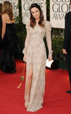 Não gostei nada do vestido da Michelle Williams… Já o Burberry Prorsum da…
