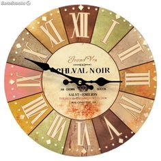 Reloj de pared Vintage con números Romanos 30 cm