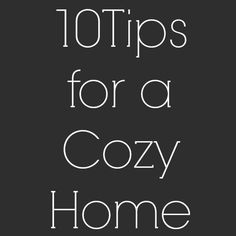 10 Cozy Home Decorating Ideas - Lighting & Interior Design Ideas Blog - Community - LampsPlus.com - Information Center
