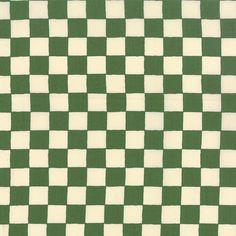 A La Carte Checkerboard, Green and Cream Checks from American Jane for Moda, French Country Reproduction. 21666-14  To view all A La Carte in stock