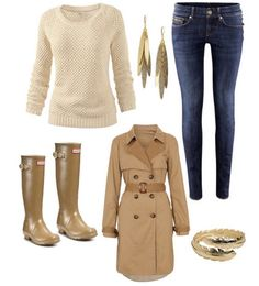 4 Outfits for #Rainy Days !!