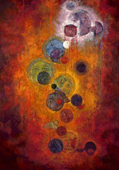 "PIPER :: ""The Birth of Spirit"" Oil by Eyob Mergia ♥≻★≺♥"