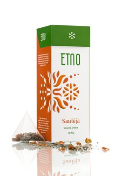 ETNO Tea by Edvardas Kavarskas, via Behance
