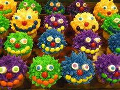 monster cupcake - Yahoo Image Search Results