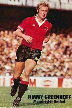 Jimmy Greenhoff of Man Utd in 1978.