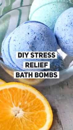 Diy stress relief bath bombs are a natural anxiety remedy that uses essential oils. They make a great homemade gift and are an easy diy recipe gift videos Stress Relief Bath Bombs Stress Relief Gifts, Natural Stress Relief, Stress Relief Essential Oils, Bath Bombs Video, Bath Boms Diy, Homemade Bath Bombs, Diy Lush Bath Bombs, Mini Bath Bombs, Natural Bath Bombs