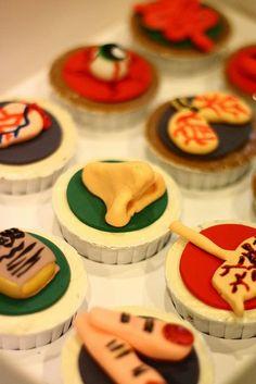 Anatomy Set Cupcakes