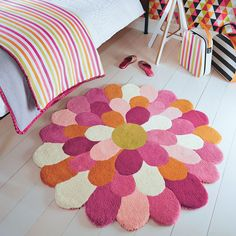 Funky Flower Rugs 42702 By Harlequin Kids Online From The Rug Er Uk