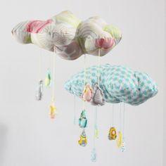nubes de tela