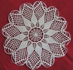 Crochet Lace Edging, Crochet Diagram, Crochet Doilies, Crochet Top, Crochet Bedspread, Doily Patterns, Polymer Clay Earrings, Cross Stitch, Crafts