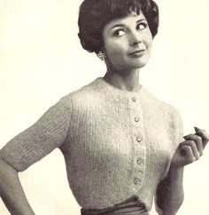 Mohair Shrug Knitting Pattern 726098