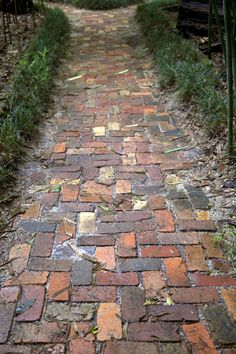 brick walkway | Brick Walkway at the Kanapaha Botanical Gardens