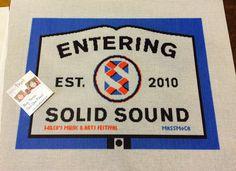 Solid Sound Custom Needlepoint Kit