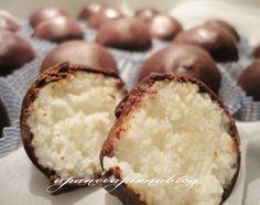 Cioccolatini al cocco e ricotta (ricetta veloce)