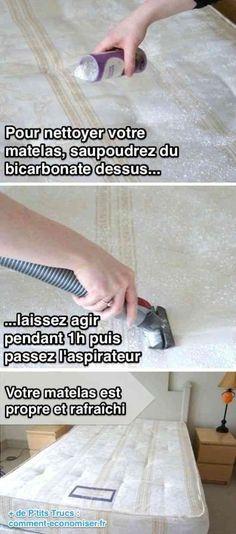 Comment nettoyer un matelas naturellement