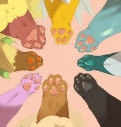 Eeveelution Paws Are Cyoot