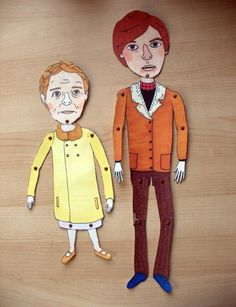 Harold and Maude Paper Dolls