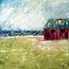 "ORIGINAL | ""Abandoned Red Barn"""