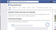 """Facebook'a """"Kaydet"""" özelliği geldi www.lojiloji.com/facebooka-kaydet-ozelligi-geldi/"""