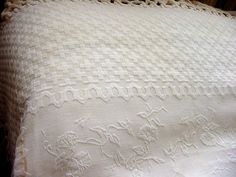 Fabulous Antique Marcella Bedspread with Fringe.c1910 by chalcroft, $25.00