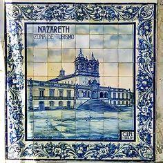 Nazaré… #nazare #azulejos #azulejo #azulejoportugues #photo #photographyislife #photography #photographer #photographylovers #photograpy (em Valado dos Frades)