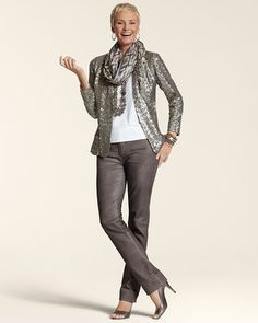 Great combo #over50fashionforwomen