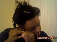 4A Natural Hair: Mini Twists!!