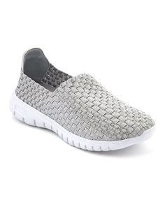e66cd46b966 Another great find on  zulily! Silver Banky Loafer  zulilyfinds Loafers