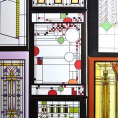 FLW フランク・ロイド・ライト マグネット 【Frank Lloyd Wright 磁石 キッチンマグネット キッチン デスクアクセサリー ステーショナリー…