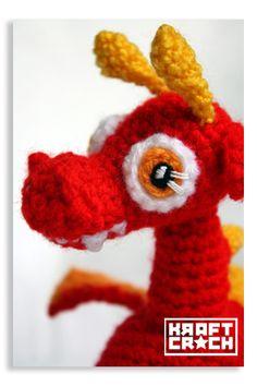 amigurumi baby dragon