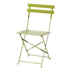 Bolero Pavement Style Steel Chairs Green For Indoor And Outdoor Metal Dining Chairs, Wicker Chairs, Bistro Chairs, Side Chairs, Folding Furniture, Garden Furniture, Folding Chairs, Outdoor Dining, Outdoor Chairs