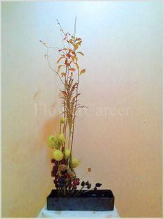Korean style flower arrangement. FlowerCareer, florist in Seoul.